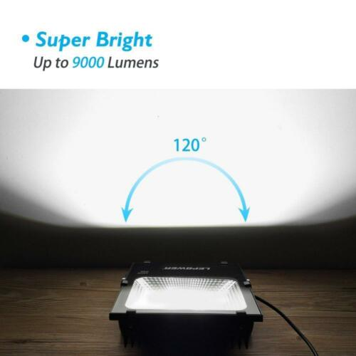 500W Halogen Bulb... 100W New Craft LED Flood Lights Super Bright Work Lights