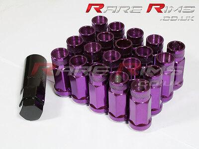 Purple Spline Wheel Nuts x 20 12x1.25 Fits Nissan 200sx S12 S13 S14 S15 Sylvia