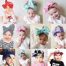Girl Kids Baby Toddler Bow Headband Hair Band Accessories Headwear Head Wrap