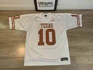 new concept da0c9 3a42a Details about VTG TEXAS LONGHORNS #10 NIKE FOOTBALL JERSEY XL NCAA CHAMP  BOWL VINCE YOUNG
