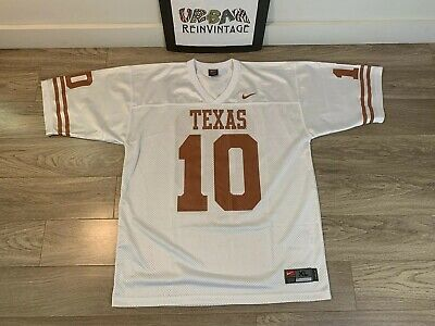 Texas Longhorns 10 Vince Young  Stitched College Football Jersey Size S XXXL