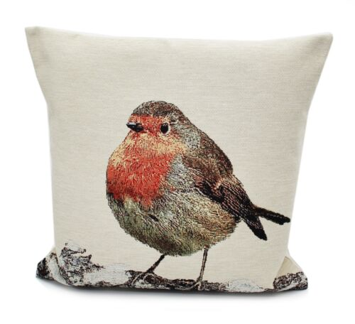Hop Hop Hop Little Red Robin Style Country Coussin 45 cm x 45 cm