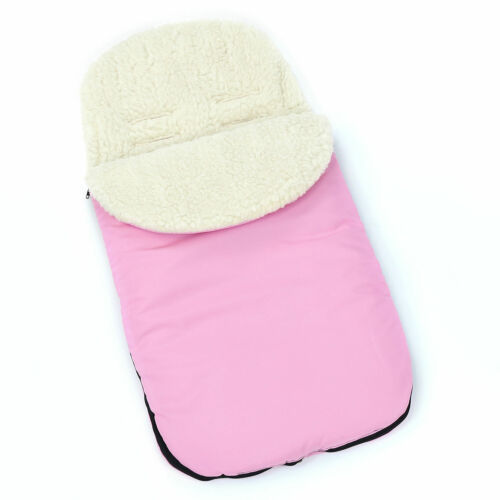 UNIVERSAL FOOTMUFF FIT PUSHCHAIR BUGGY STROLLER PRAM BABY COSY TOES PLAIN COLOUR