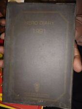INDIA RARE  - HERO DIARY 1991 HERO CYCLES LTD UNUSED CONTAIN SHERO SHAYARI