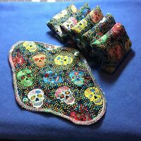 Set/6 Reusable Menstrual Pads (final Quantities, Out Of Print) Momma Cloth