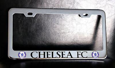 Real Madrid Chrome License Plate Frame