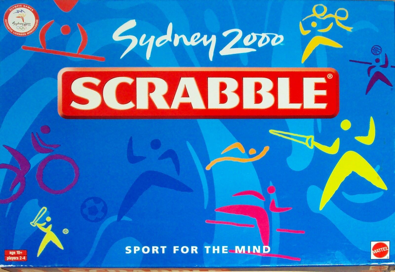 Sydney 2000 Summer Olympics Scrabble Crossword Word Board Game NEVER USED RARE