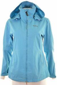 REEBOK-Womens-Overjacket-UK-12-Medium-Blue-Cotton-KC23