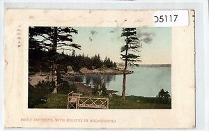 D5117cgt-Canada-Point-Pleasant-Halifax-in-background-pu1914-vintage-postcard