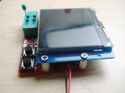 NEW GM328_3V Version Graphical Transistor \ RLC \ ESR Tester w/ AVR-ISP Socket