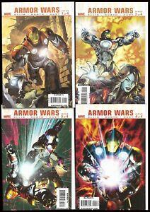 ° Ultimate Iron Man Armor Wars #1 a 4 di 4 ° US MARVEL 2009 W. Ellis