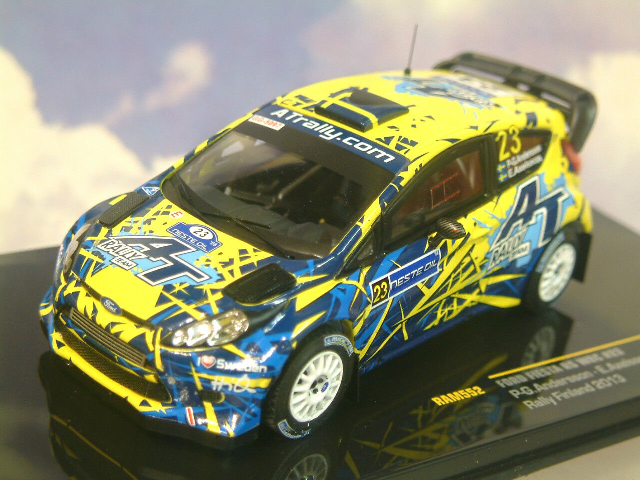 vendita con alto sconto Ixo Ixo Ixo 1 43 Ford Fiesta Rs WRC  23 Rtuttiy Finle 2013 eersson Axelsson Ram552  presentando tutte le ultime tendenze della moda