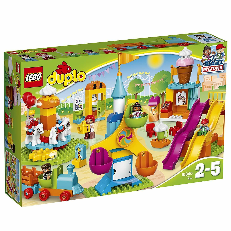 LEGO ® DUPLO ® 10840-Grande fête foraine - 106 pièces NEUF & neuf dans sa boîte