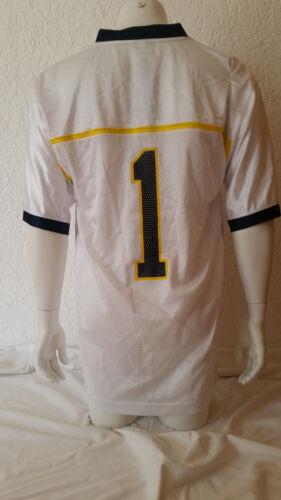 NCAA College Football Trikot Jersey University MICHIGAN WOLVERINES 1 white