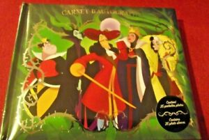Disney Villains Autograph Book - Contains 25 Photo Sleeves - Disneyland Paris
