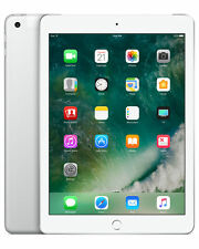 Apple iPad 5th Generation 128GB, Wi-Fi + Cellular (Unlocked), 9.7Inch - Silver