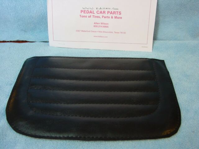 NEW PEDAL CAR  SEAT PADS ALL MURRAY CARS AND OTHERS  WHITE