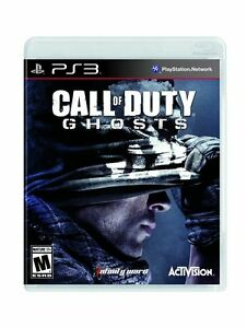 Call of Duty Ghosts Sony Playstation 3 Brand New Sealed COD PS3