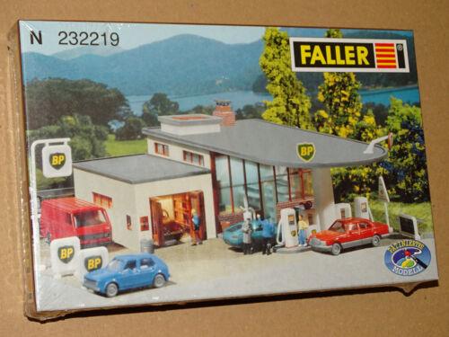 FALLER ( 232219 ) MAQUETTE STATION SERVICE NEUVE EN BOITE SOUS BLISTER N 1/160