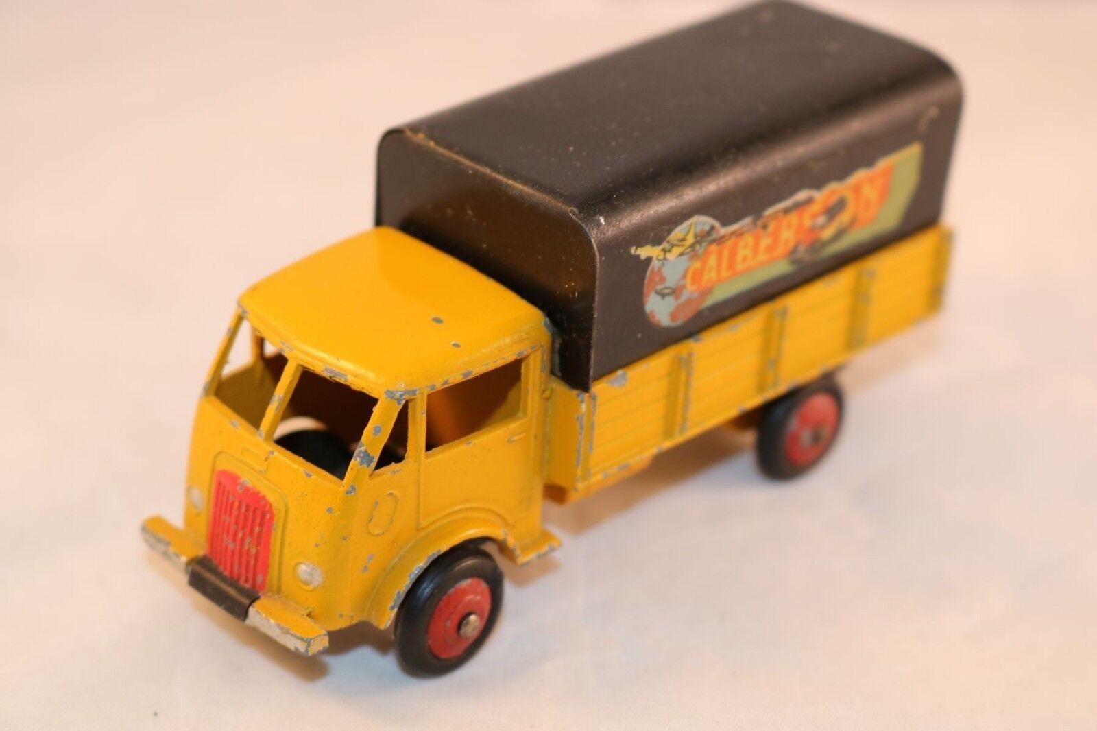 Dinky Toys France REF 25 JJ Ford Bache  CALBERSON  Superbe etat rare NO ATLAS