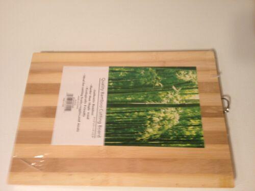 Quality Bamboo Cutting Board 9.5 x 13.25 x .625 or 9 1//2 x 13 1//4 x 5//8 inches