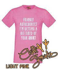 AUTOCORRECT Geek Humour Autocorrect Nerd Joke Humour Funny T-shirt Vest Tshirt