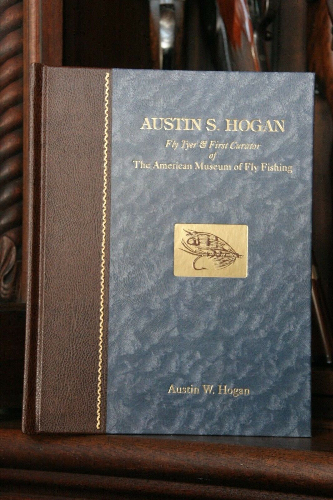 Fly Tyer Austin S. Hogan-Premier Conservateur d'amer. Museum of flyfishing VT