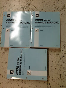 2009 buick lucerne service shop repair manual set factory books 09 rh ebay com Buick Park Avenue Buick Lacrosse