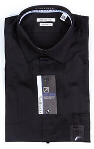 VAN-HEUSEN-Men-039-s-Regular-Fit-No-Iron-Lux-Sateen-Dress-Shirt