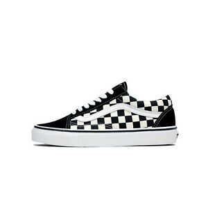 5e757a5a88c0cd Image is loading VANS-Old-Skool-Primary-Checkerboard-Suede-Black-White-