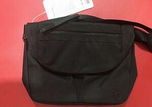06e6e23897d4 NEW Lululemon Festival Bag II Travel Crossbody -- NWT - Black BLACK ...