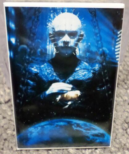 """Hellraiser Pinhead 2/"""" x 3/"""" Refrigerator Locker MAGNET Image 2 Barker"""