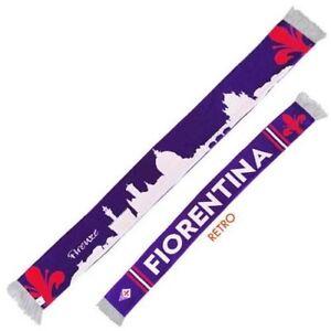 Sciarpa-Fiorentina-Tubolare-invernale-Viola-Calcio-Double-Face-Monumenti-Firenze