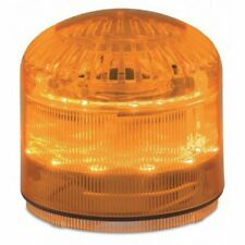 Federal Signal Safety Beacon Warning Sounder Light Led Slm600a