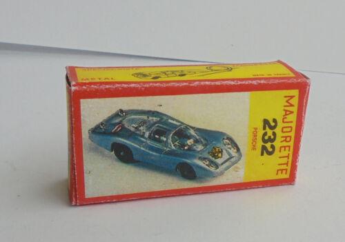 Repro Box Majorette Nr.232 Porsche