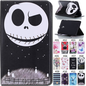 For-Apple-Samsung-Tablet-Case-PU-Leather-Cover-Wallet-Card-Slot-Flip-Stand-Shell