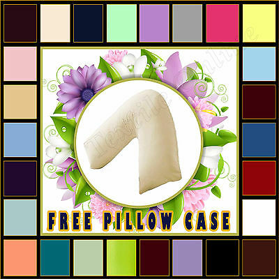 Free Pillow Case **Special Offer **Hollow Fibre V Shaped Pillow back Support
