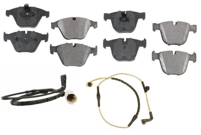 REAR Pads Back Disc Brake Sensor Pad Set kit for BMW 745i 745Li 750i 750Li 760Li