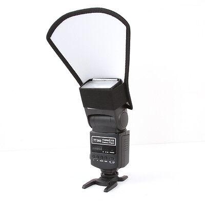 Difusor de Flash softbox plata/blanco reflector para Canon Nikon Pentax Yongnuo