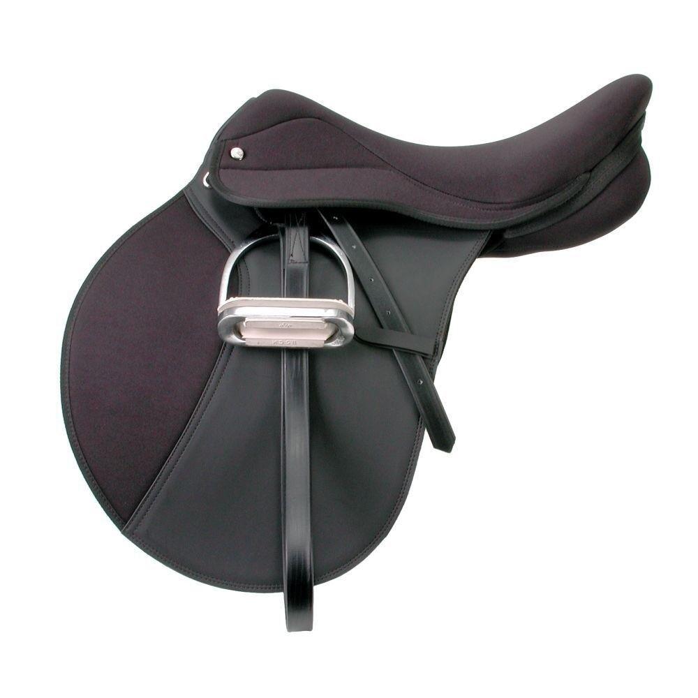 EquiRoyal Pro Am todo propósito silla con profundo árbol de ancho de asiento de espuma
