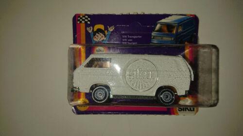 SIKU 1331 VW T3 TRANSPORTER WEISS OHNE AUFDRUCKE R11 NEU OVP