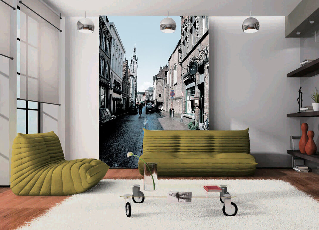 3D city building history Wall Paper Wall Print Decal Wall Deco Indoor wall Mural