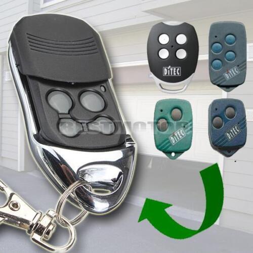 Compatible Garage//Gate Door Remote Keyless For Ditec GOL4 BIXLG4 BIXLP2 /&