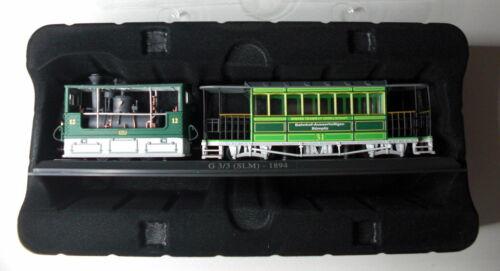 Tranvía atlas Edition modelo de metal la cast 2013 OVP carteles nuevo 1:87 3