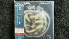 WHITESNAKE COME AN`GET IT  JAPAN MINI LP SACD /SHM CD