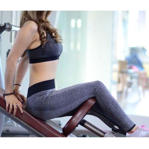 Damen Sport Leggings Yoga Fitness Laufhose Tights Stretch Jogginghose Leggins FL