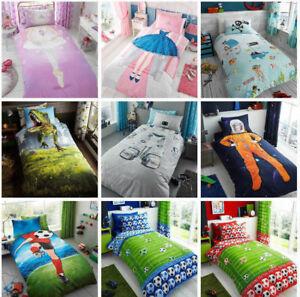 wholesale dealer 967ee 82826 Details about Kids Luxurious Children Designs Boys and Girls Duvet Covers  Bedding Set Single