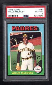 1975-Topps-450-WILLIE-MCCOVEY-HOF-Giants-PSA-8-NM-MT-Sharp-Card