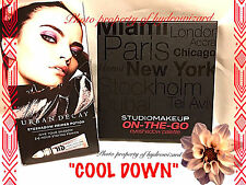 """Studio Makeup On-The-Go Eye shadow Palette in """"Cool Down""""  & Urban Decay new"""
