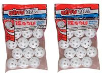 Official Wiffle® Golf Balls Plastic Practice Poly Balls 24